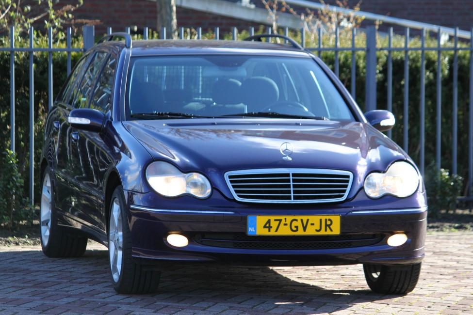 Mercedes C200 Combi Automaat Avantgarde Bijtellingsvriendelijk! TE LAAT!!