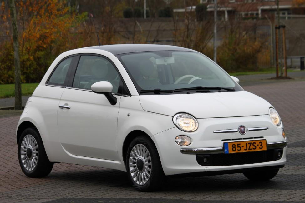 Fiat 500 1.2 Lounge Automaat Panorama Dak, 79dkm! TE LAAT!