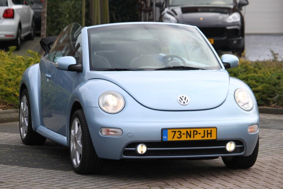 Volkswagen New Beetle Cabriolet 1.6 Orig NL TE LAAT!!