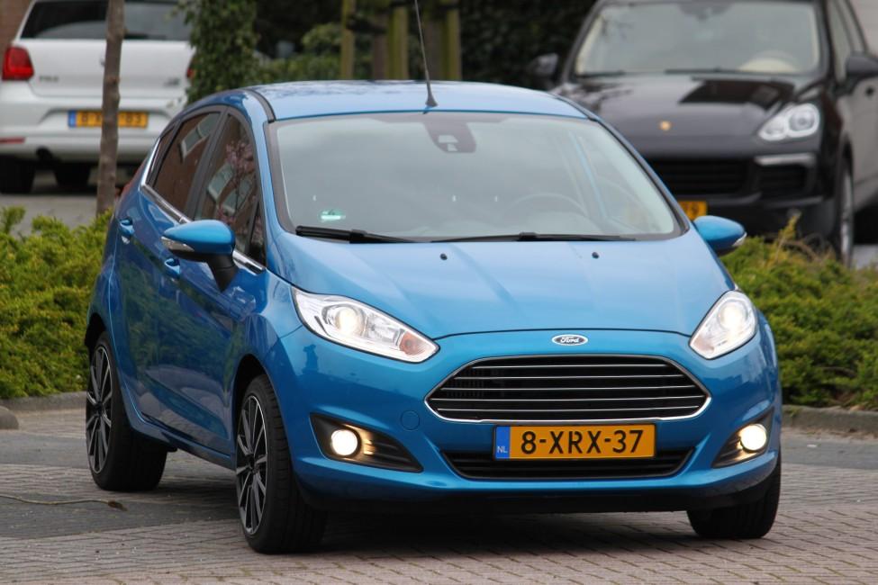 Ford Fiesta 1.0 Ecoboost Titanium 101PK 5 drs in TOPstaat! 20dkm! TE LAAT!