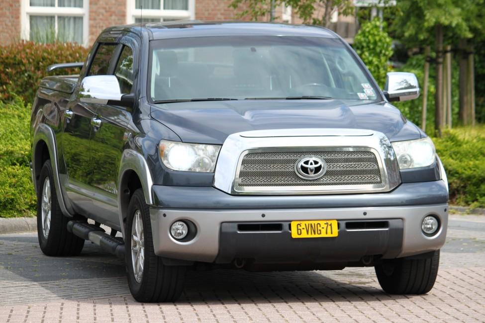 Toyota Tundra 5.7 V8 LPG Grijs kenteken 154dkm! Te Laat...