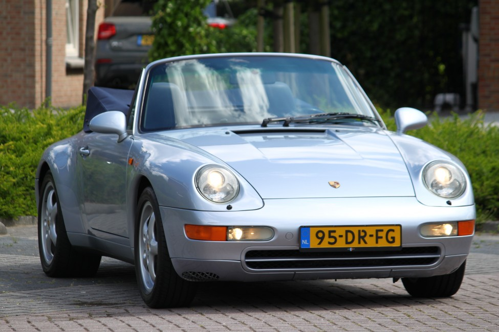 Porsche 911 Cabriolet 993 3.6 Tiptronic slechts 92dkm! Uniek!
